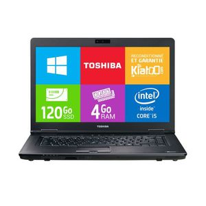 ORDINATEUR PORTABLE ordinateur portable 15 pouces toshiba tecra a11 co