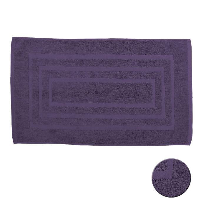 tapis de bain deep purple 50x85 cm