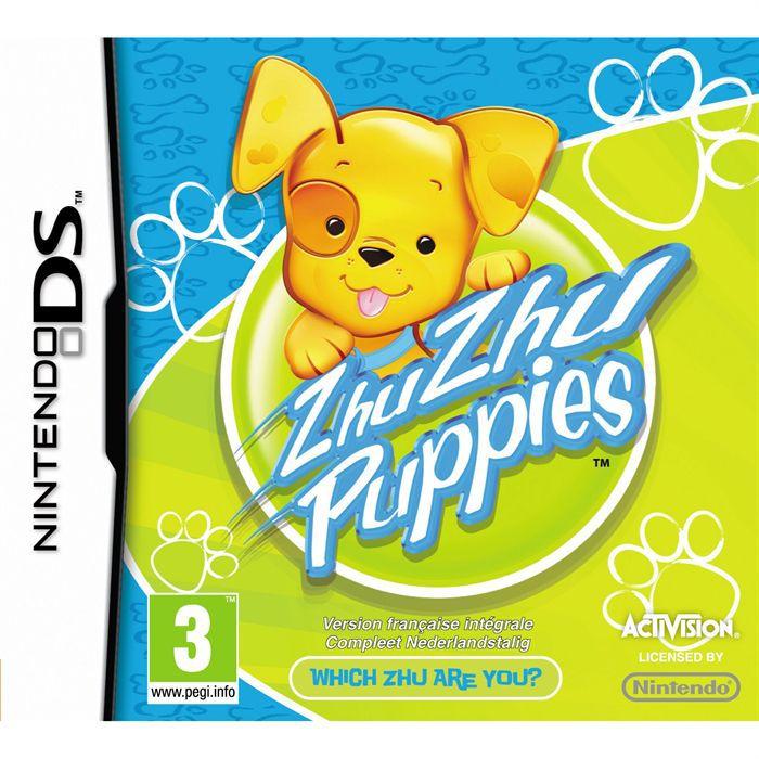 JEU DS - DSI ZHU ZHU PUPPIES / Jeu console DS