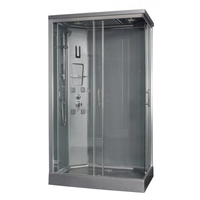 cabine de douche rectangulaire 120x80cm