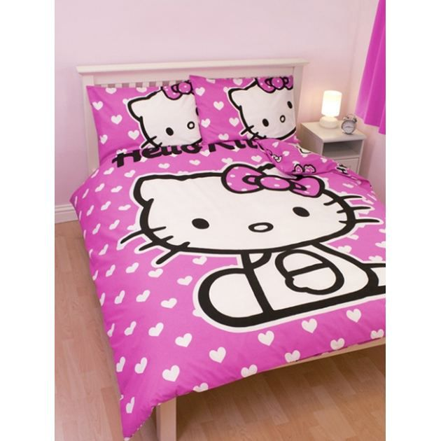 Housse de couette hello kitty 200 200 achat vente for Housse de couette hello kitty