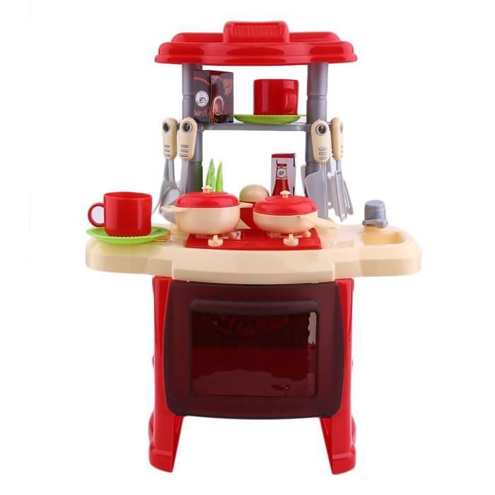Jouets Educatif Cuisiniere Pour Enfant Ensemble De Cuisine Enfants
