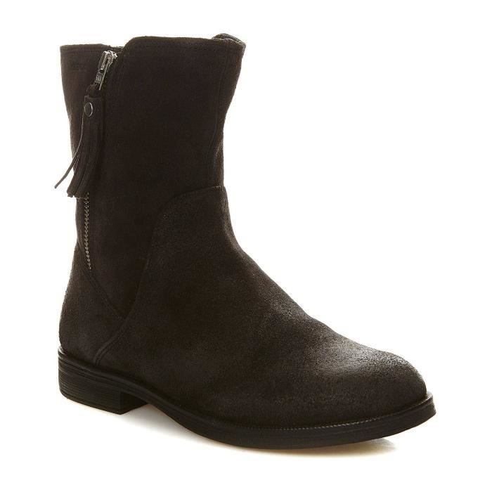 AGATA - Boots en cuir - noir