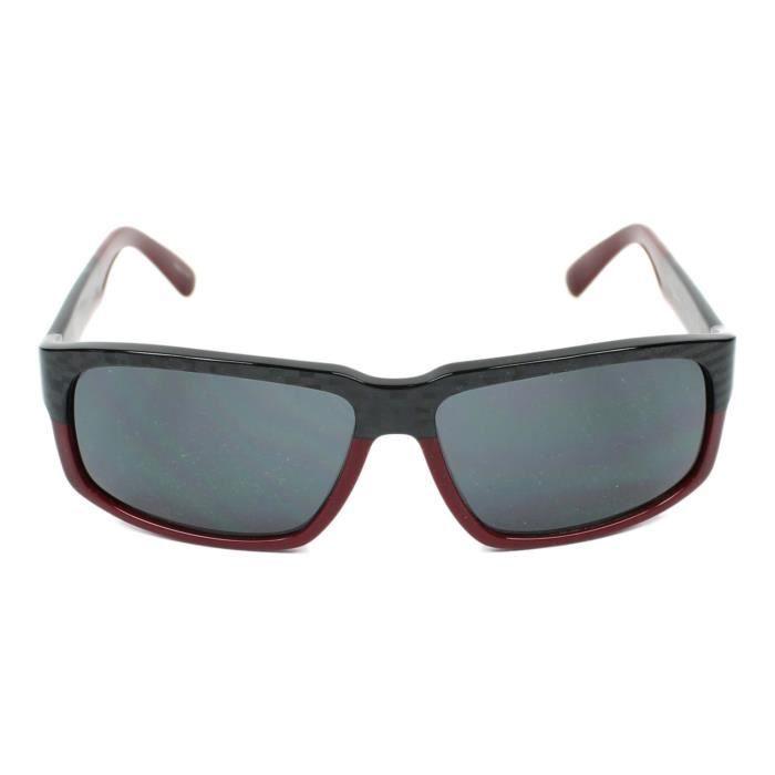 ca2f0406debeab Lunettes de soleil Porsche Design P8547 -C Carbonne - Bordeaux - Achat    Vente lunettes de soleil Homme Adulte Noir - Soldes  dès le 9 janvier !  Cdiscount