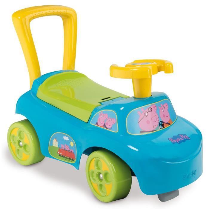 d7000757a90 PEPPA PIG Smoby Porteur Enfant Auto - Achat   Vente porteur ...