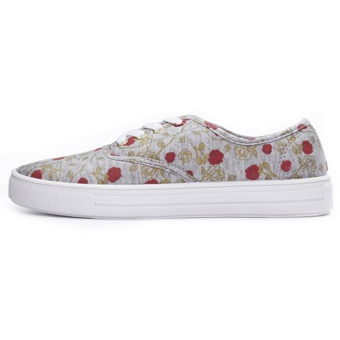 Disney Fairytale Junior Teen Girls Lace Up Low Top Canvas Sneakers (see More Designs And Sizes) M0JVM Taille-40 Unomx318q