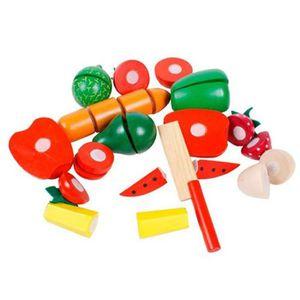 fruit et legumes en bois achat vente jeux et jouets pas chers. Black Bedroom Furniture Sets. Home Design Ideas