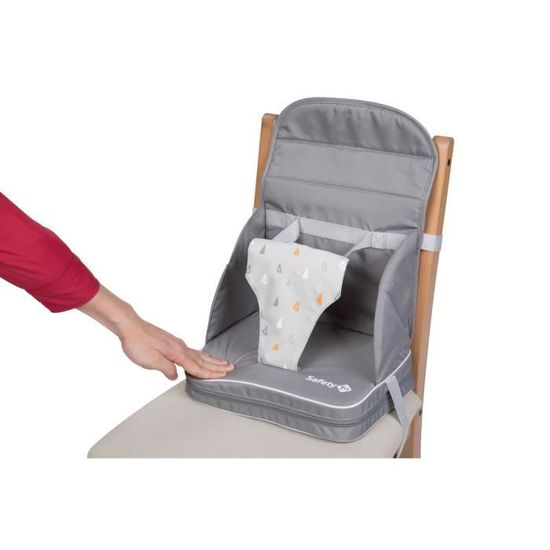 Warm Grey 1st Rehausseur Travel Booster Chaise Safety CerodxB