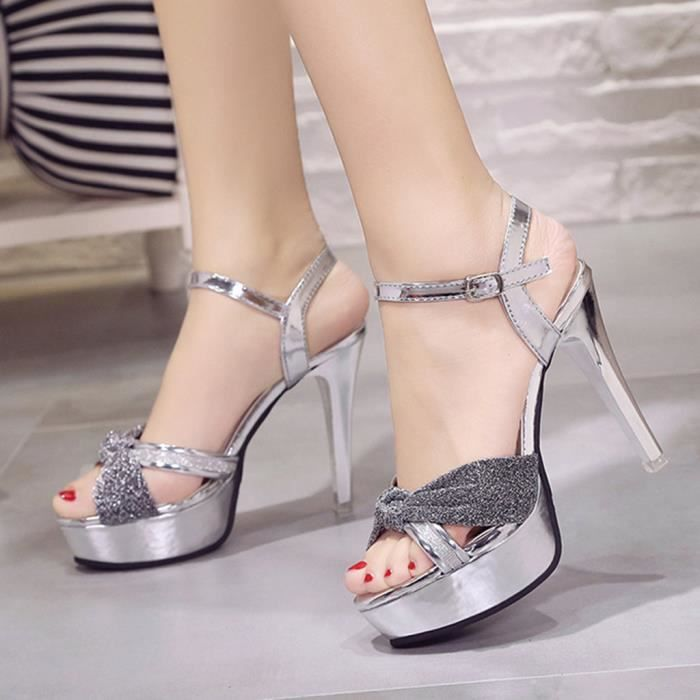 Haute Stiletto Sauvage Femmes 13217 Simples Veberge De Talons Boucle Ceinture chaussures Chaussures Sandales ZAqrpzZwx
