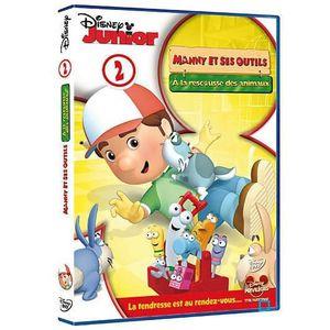 DVD DESSIN ANIMÉ DVD Manny et ses outils : à la rescousse des an...