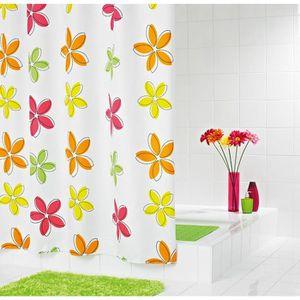 RIDDER Rideaux de douche textile - Fleur