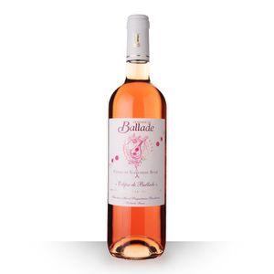 VIN ROSÉ Domaine de Ballade 2016 Rosé 75cl IGP Côtes de Gas