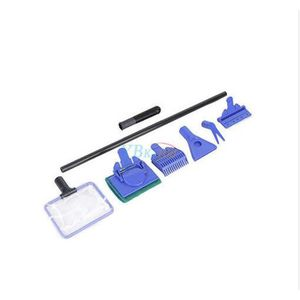 ENTRETIEN ET TRAITEMENT 5 en 1 Kit de brosse de nettoyage d'Aquarium Tank