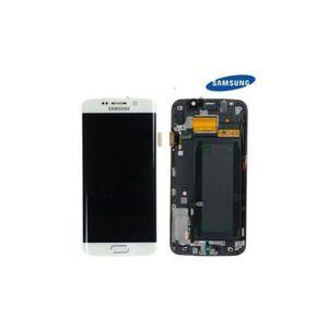 ECRAN DE TÉLÉPHONE Ecran complet assemble + Frame Samsung Galaxy S6 E