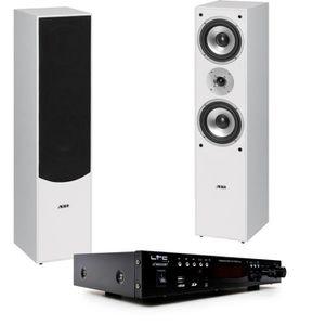 CHAINE HI-FI Système home-cinéma chaîne hi-fi bluetooth USB MP3
