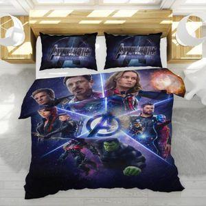 HOUSSE DE COUETTE ET TAIES Avengers: Endgame Parure de lit 3 pièces de Marque