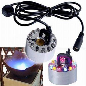 FONTAINE DE JARDIN Kingwing® 12 LED coloré Désinfiltrant ultrasonique