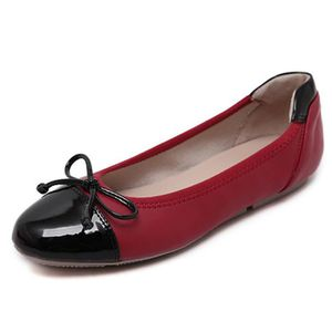 BALLERINE Tomwell Confortable Chaussures Femme Bowknot Balle