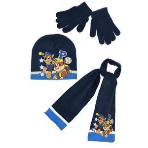 GANT - MITAINE Ensemble PAT PATROUILLE bonnet gants écharpe enfan