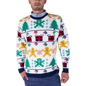 PULL Noroze Homme 70's Pulls Retro Noël Tricots Pullove