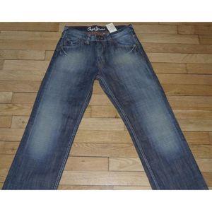 db28cc8764f6c PEPE Jeans pour Garçon Taille Fr 16 ans Hatch Neuf (Réf # D014) Bleu ...