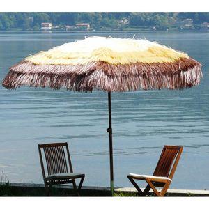 parasol paille achat vente parasol paille pas cher soldes d s le 10 janvier cdiscount. Black Bedroom Furniture Sets. Home Design Ideas