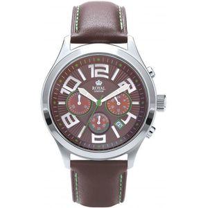 76b75f82927071 SAUTOIR ET COLLIER montre royal london 41144-02 - montre cuir marron