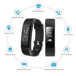 BRACELET MONTRE CONNEC. Savfy Bracelet Connecté Cardio Intelligent Montre