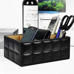 boite de rangement telecommande achat vente boite de rangement telecommande pas cher cdiscount. Black Bedroom Furniture Sets. Home Design Ideas