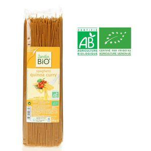 PÂTES ALIMENTAIRES JARDIN BIO Spaghetti au quinoa curry curcuma bio -