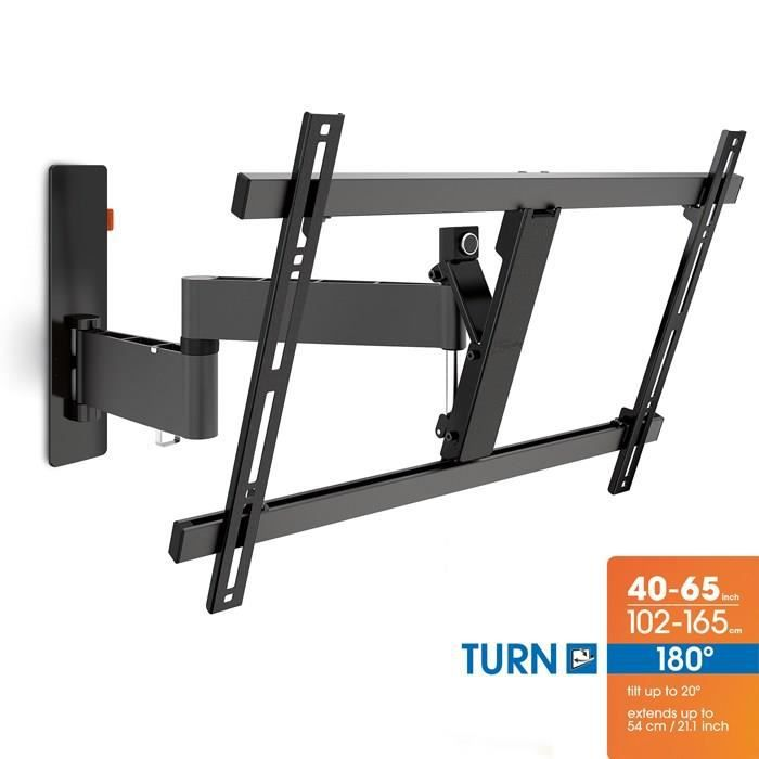 VOGEL'S WALL 2345 Support TV mural Orientable 40 à 65\