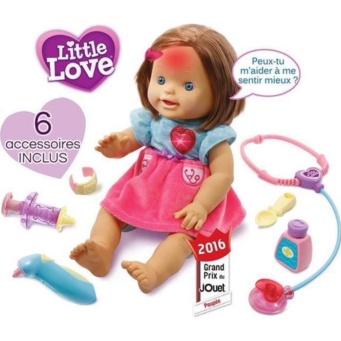 VTECH Poupée Little love Ma poupée a soigner