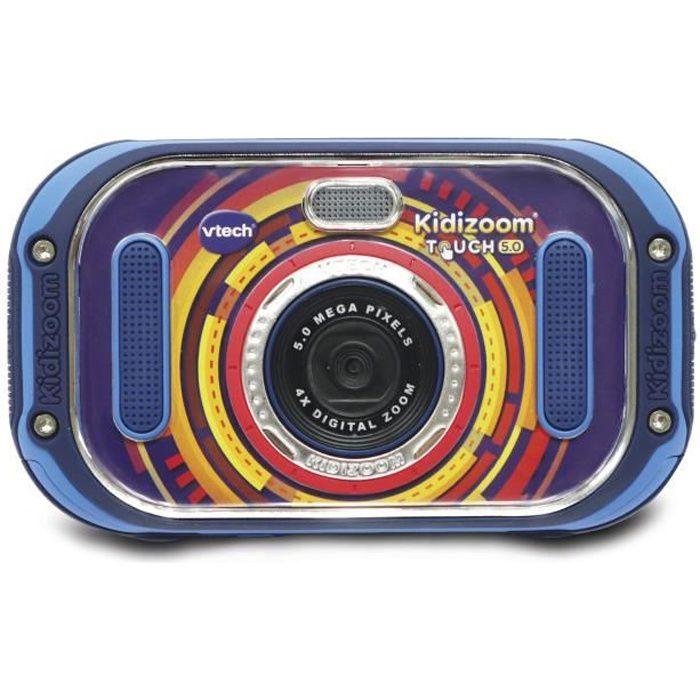 VTECH - Kidizoom Touch 5.0 Bleu - Appareil Photo Enfant