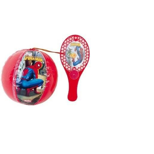 a6f6f5660af01 TAP BALL TAPBALL - SPIDERMAN - Ballon Gonflable avec raquette - Elastique
