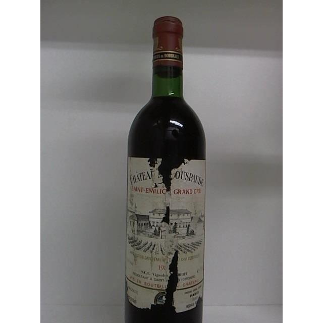 Château La Couspaude 1986 - Achat / Vente vin rouge Château La ...