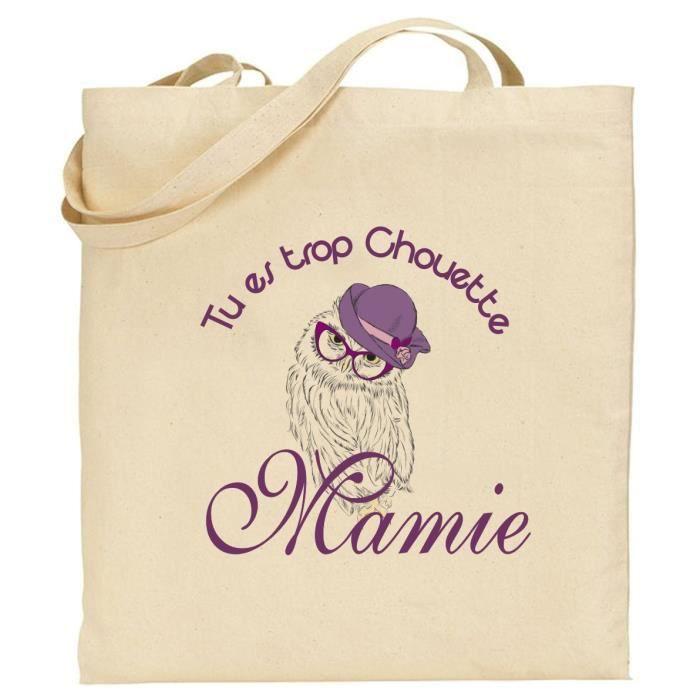 100Coton Cadeau La Sac Fête Mamie Bio Des Pour kulwOXTZPi