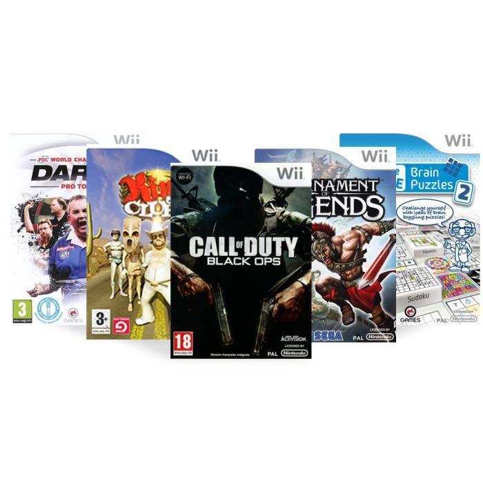 JEU WII Pack 5 jeux de sport - Wii
