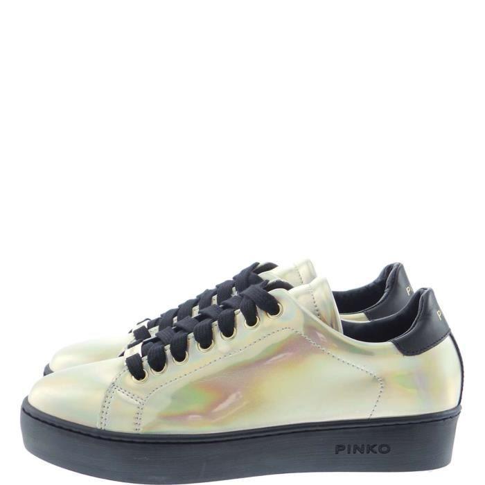 Pinko Sneakers Femme Oro Free
