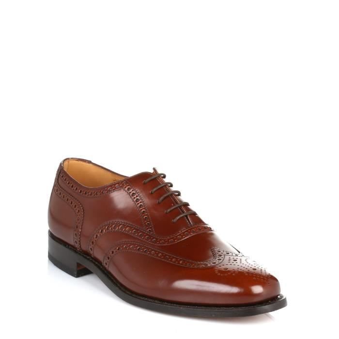 Homme Marron Loake Brogue Cuir Shoes 202t RdRPwq1