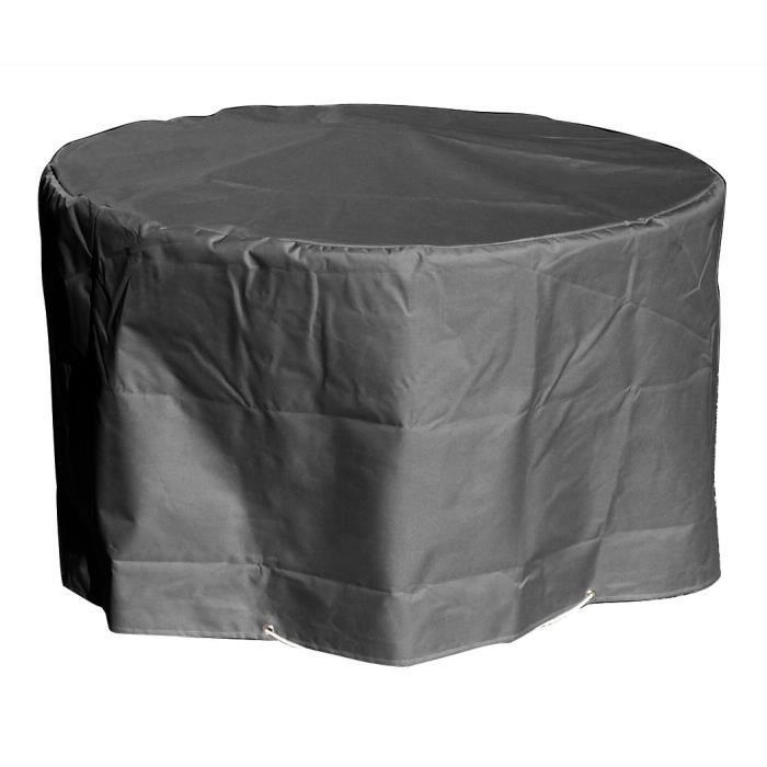 Housse table de jardin ronde - Achat / Vente Housse table de ...