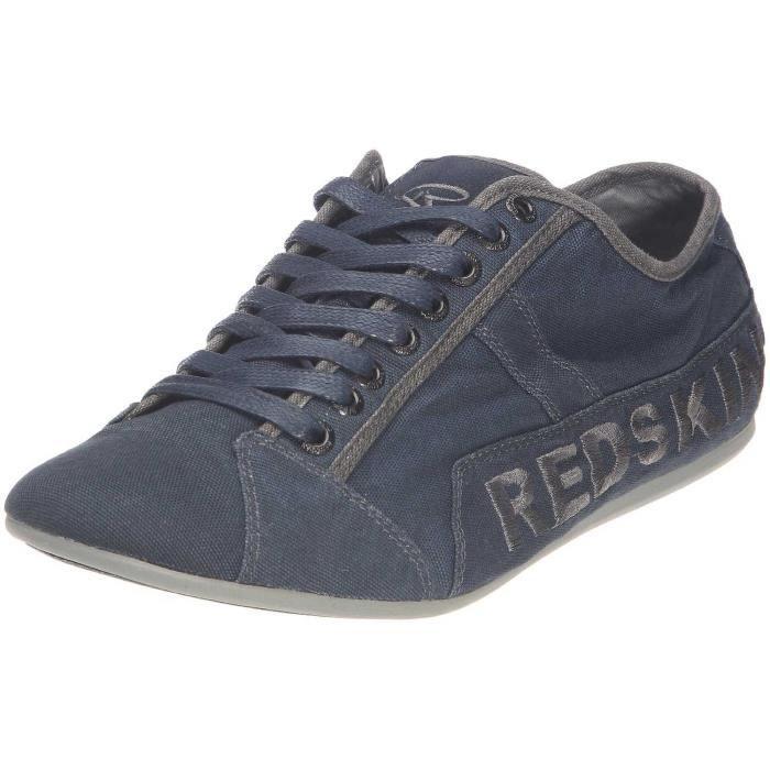 chaussures basket basse redskins tempo marine gun pointure 44 : réf indi