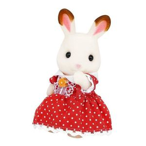 a243b8fbd81 ... FIGURINE - PERSONNAGE SYLVANIAN FAMILIES 4150 Famille Lapin Chocolat ...
