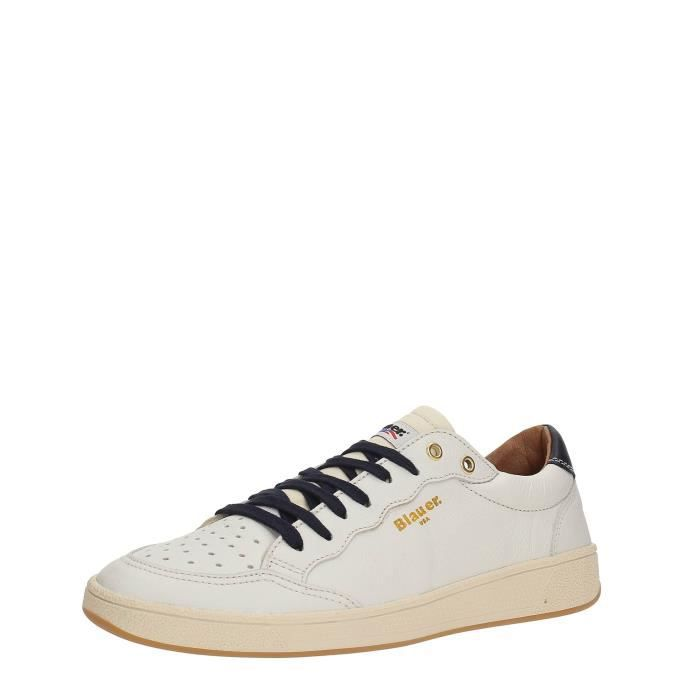 WHITE 45 USA Sneakers Homme Blauer H0xqwtUnHI