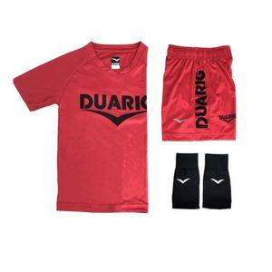 TENUE DE FOOTBALL DUARIG Kit 6 ans Enfant mixte Rouge