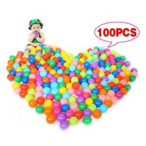 BALLES PISCINE À BALLES 100 Pcs balle colorée océan balles en plastique so