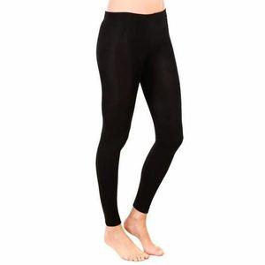 COLLANT SANS PIED Legging Femme Noir thermique HIVER intérieur pola 2dac5948579