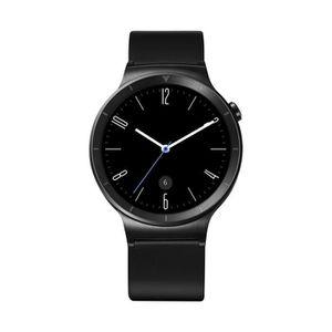 MONTRE CONNECTÉE Huawei Watch Active - Bracelet cuir noir