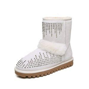 des met livraison de sur cheville vente d'hiver de chaussures botte chaude de neige classiques chaudes e les bottes La chaussures vTqUYC0wW