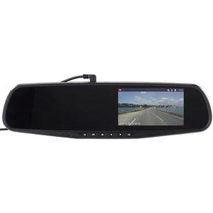 BOITE NOIRE VIDÉO Rétroviseur et caméra embarquée HD avec écran 4,3