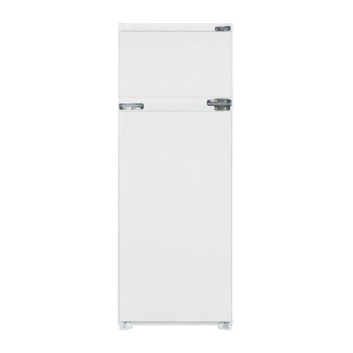 SHARP SJ-T2214M1X - Réfrigérateur congélateur haut encastrable - 214L (176+38) - Froid Statique - A+